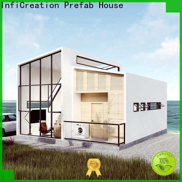 steel luxury prefabricated homes factory price for entertainment centers