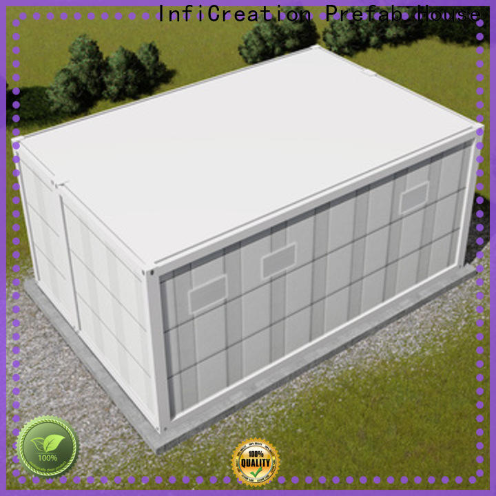InfiCreation storage container houses directly sale for booth