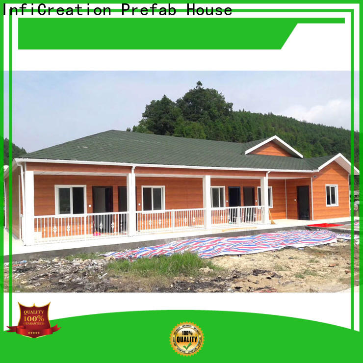 InfiCreation pre manufactured homes manufacturers for booth