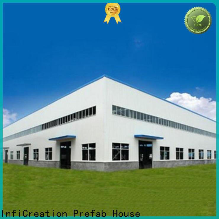 modern prefabricated steel warehouse design for factory