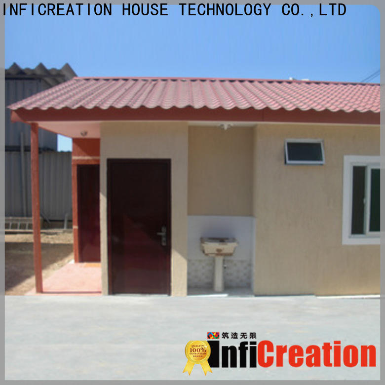 low cost premade container homes supplier for toilet