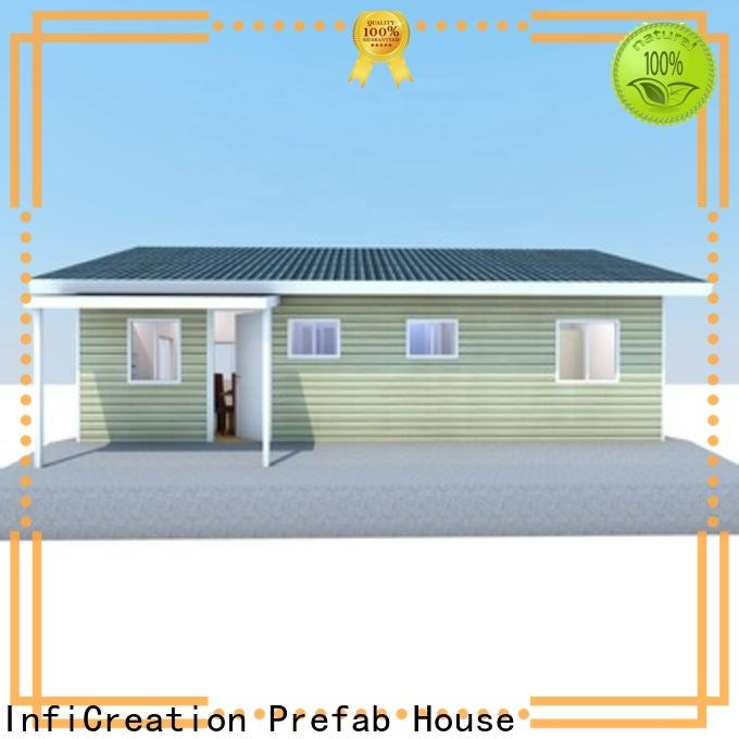 InfiCreation portable modular cottages manufacturer for hotel