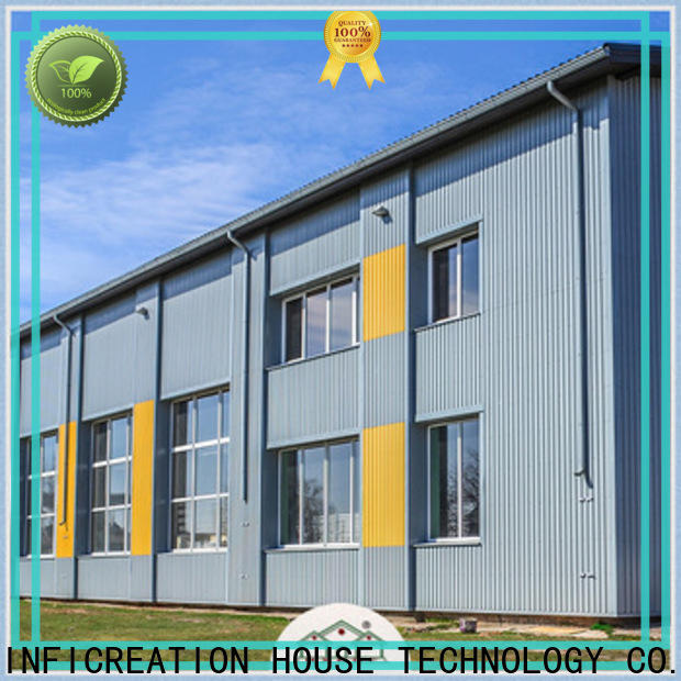 fast assembly prefab steel warehouse design for company