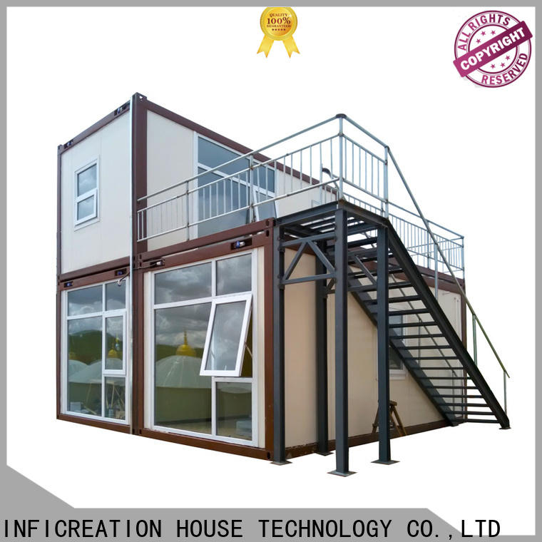 InfiCreation steel freight container homes customized for office