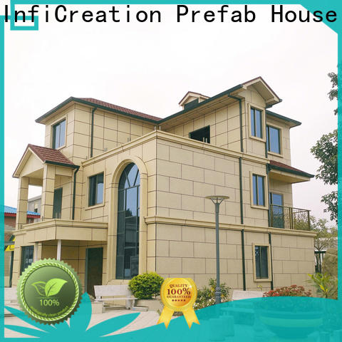 portable pre fabricated cottages designer for accommodation
