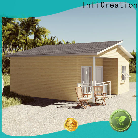 InfiCreation modular beach cottages manufacturer for entertainment centers