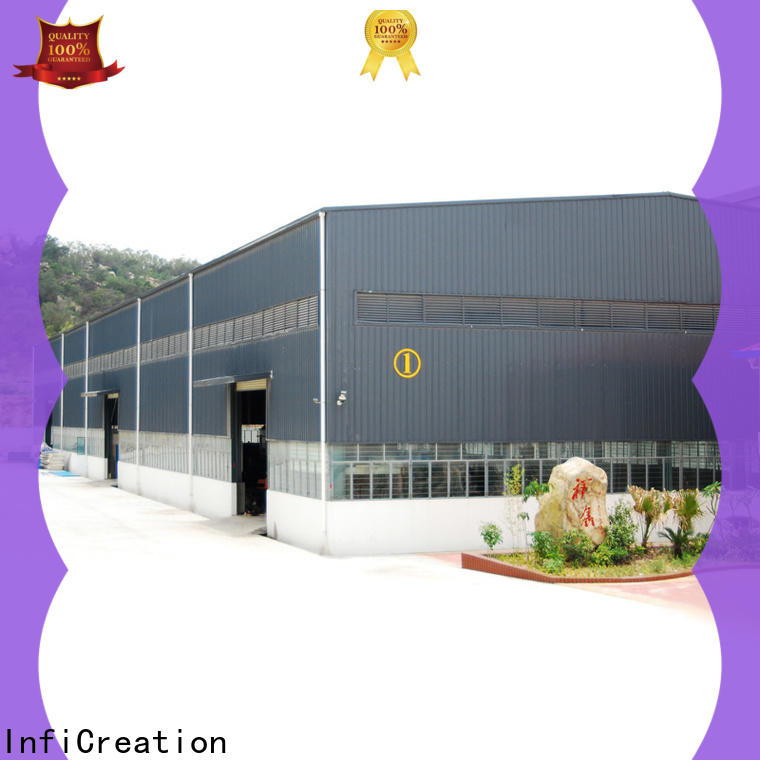 durable prefabricated steel warehouse supplier for company