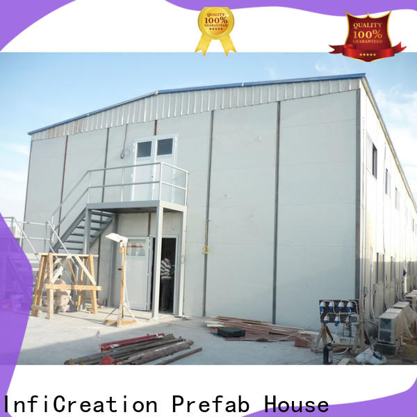 InfiCreation high-quality pre manufactured homes suppliers for booth
