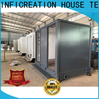 steel modular container homes manufacturer for booth