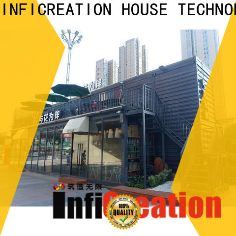 InfiCreation best pre manufactured homes manufacturers for carport