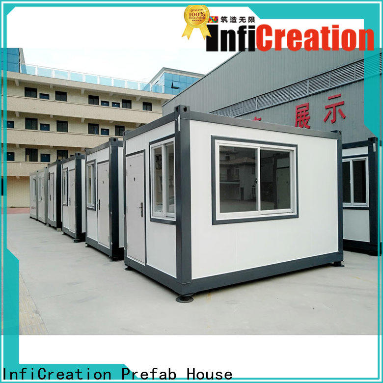 InfiCreation modern modular container homes manufacturer for carport