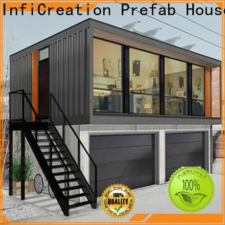 InfiCreation prefabricated container homes factory for booth