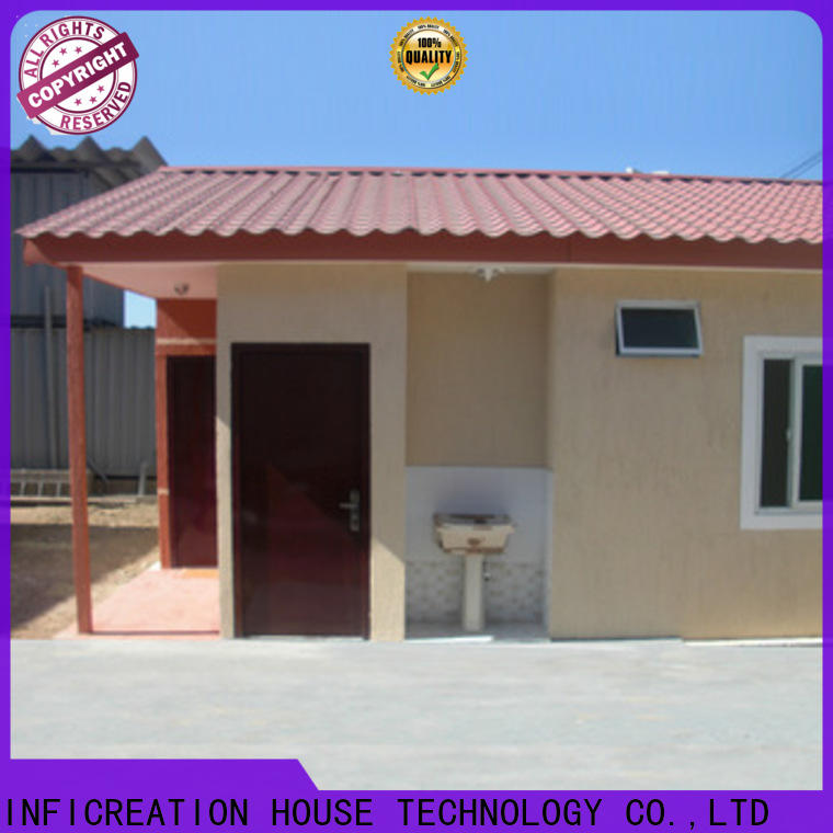 steel prefabricated container homes factory for toilet
