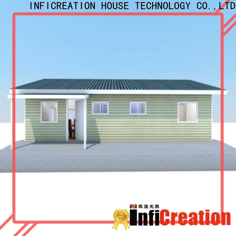 InfiCreation pre manufactured houses factory price for hotel