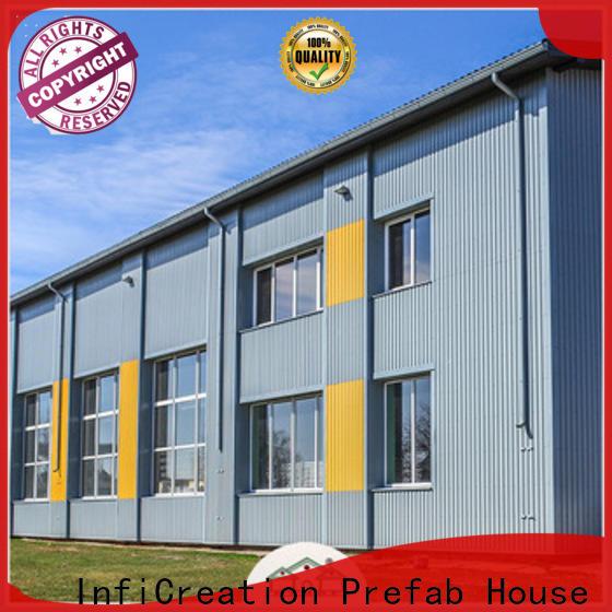 InfiCreation modern prefab steel warehouse supplier for storage