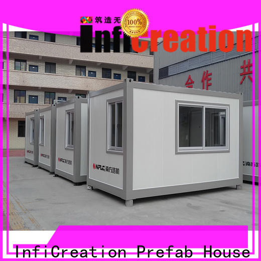 InfiCreation low cost prefab container homes customized for office