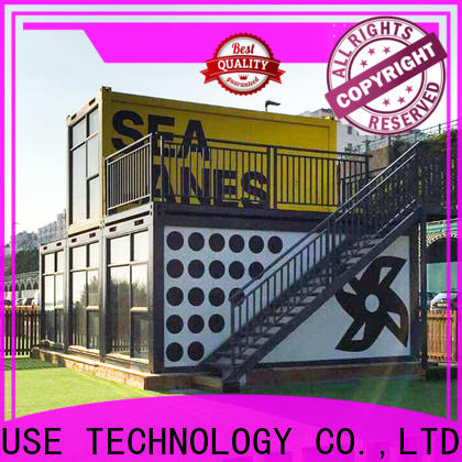 recyclable premade container homes factory price for booth