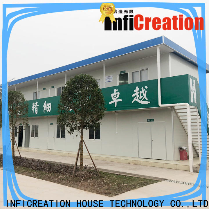InfiCreation cargo container homes directly sale for booth