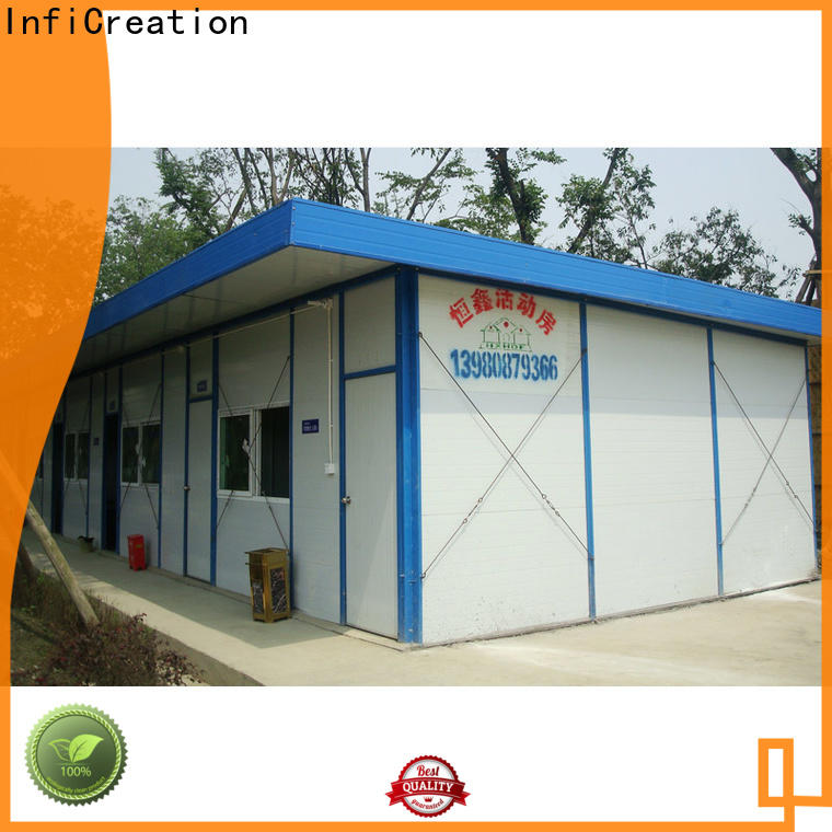 InfiCreation construction site camp manufacturer for bedroom