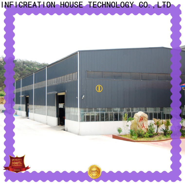 InfiCreation modern premade warehouse factory price for factory