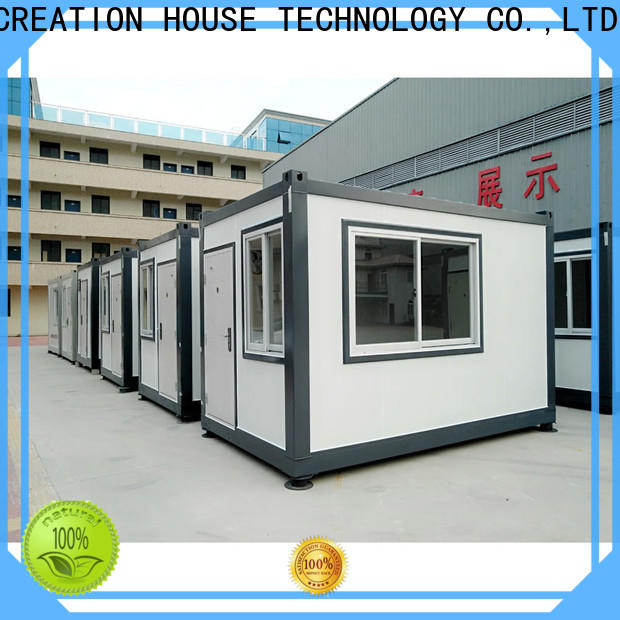 modern prefabricated container homes customized for booth