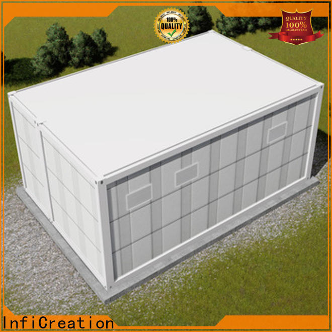 InfiCreation prefab container homes customized for office