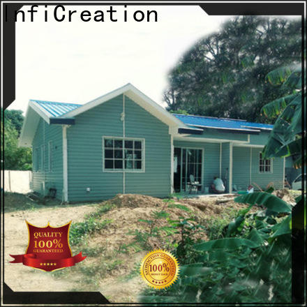 beautiful prefabricated cottages designer for resorts