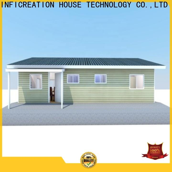 comfortable prefab villa manufacturer for resorts