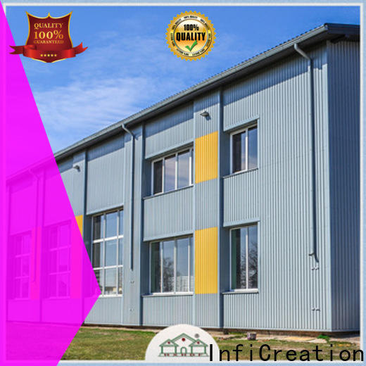 durable prefabricated steel warehouse customized for storage
