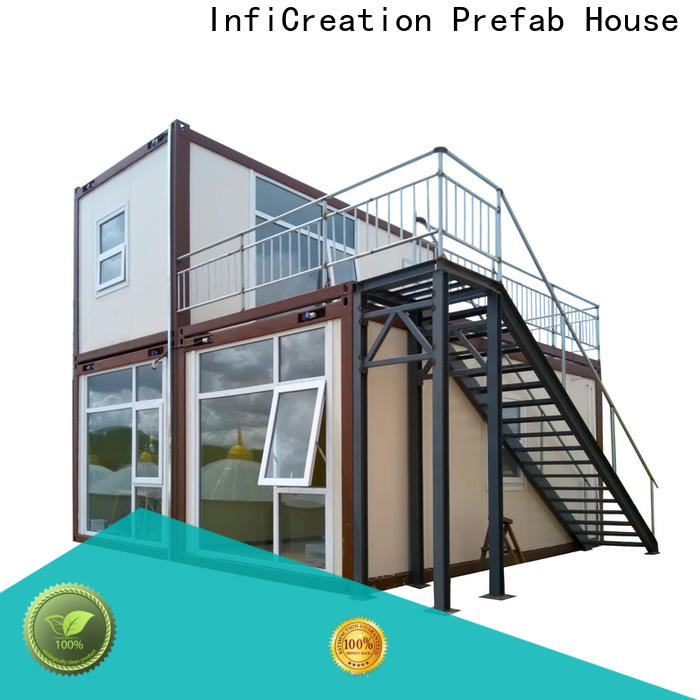 tiny prefabricated container homes supplier for carport