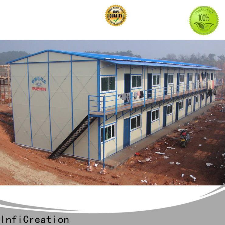 InfiCreation construction site camp manufacturer for shop