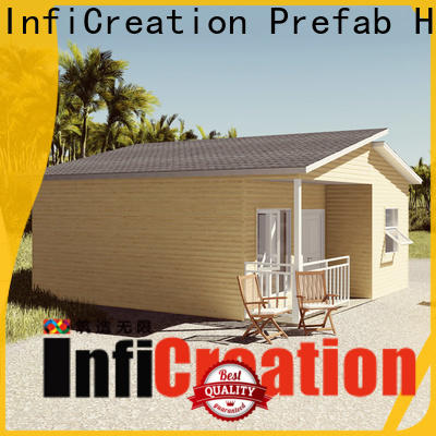 InfiCreation economical premade homes manufacturer for hotel