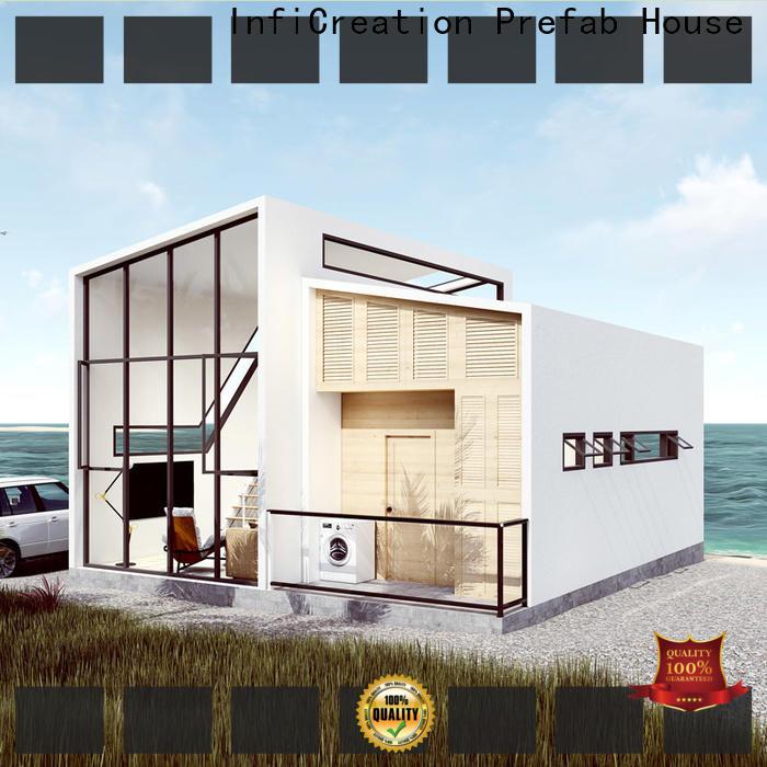 steel luxury prefabricated homes custom for hotel