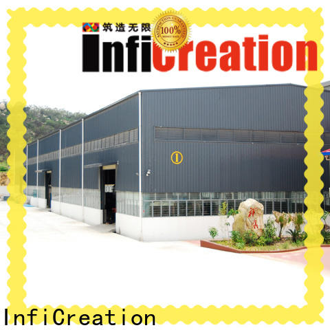 InfiCreation prefabricated warehouse supplier for company