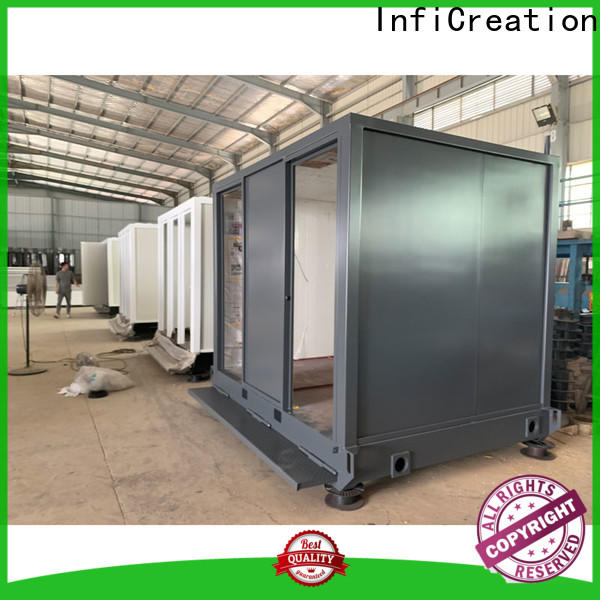 InfiCreation long lasting pre built container homes factory price for accommodation