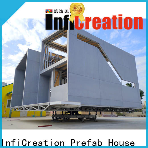 InfiCreation prefabricated cottages custom for entertainment centers