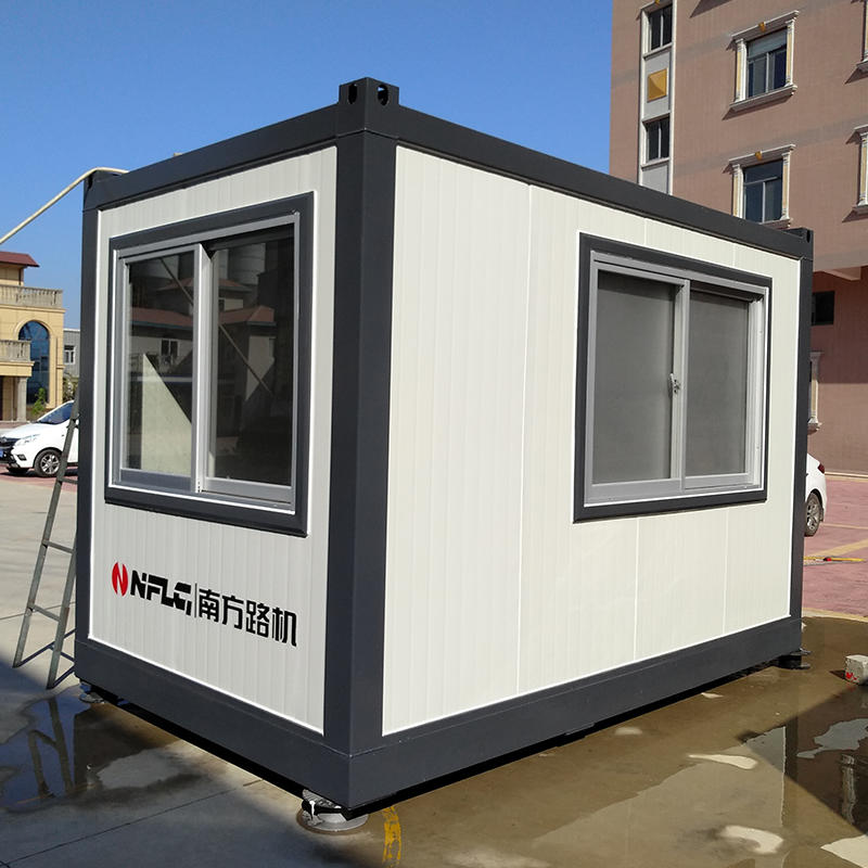 InfiCreation modern pre built container homes manufacturer for booth