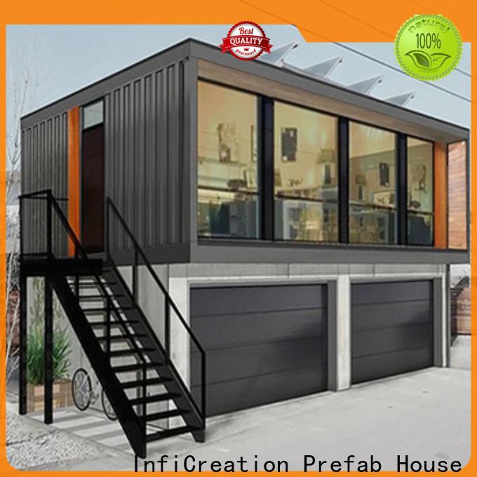modern prefab container homes manufacturer for toilet