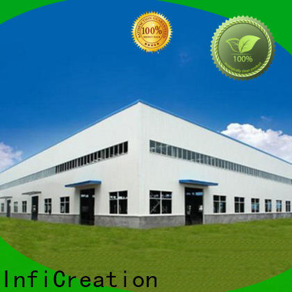 InfiCreation low cost fabrication warehouse factory price for storage