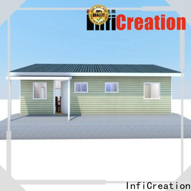 InfiCreation prefabricated villa manufacturer for accommodation
