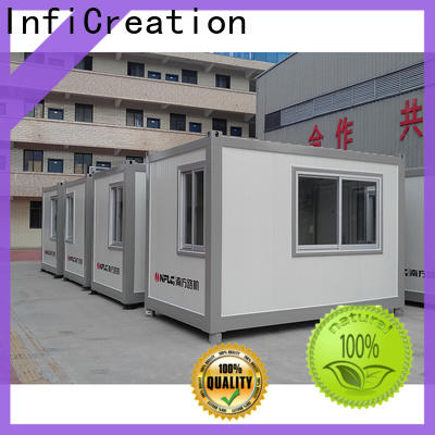 InfiCreation long lasting modular container homes manufacturer for office