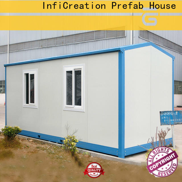 InfiCreation steel cargo container house supplier for accommodation