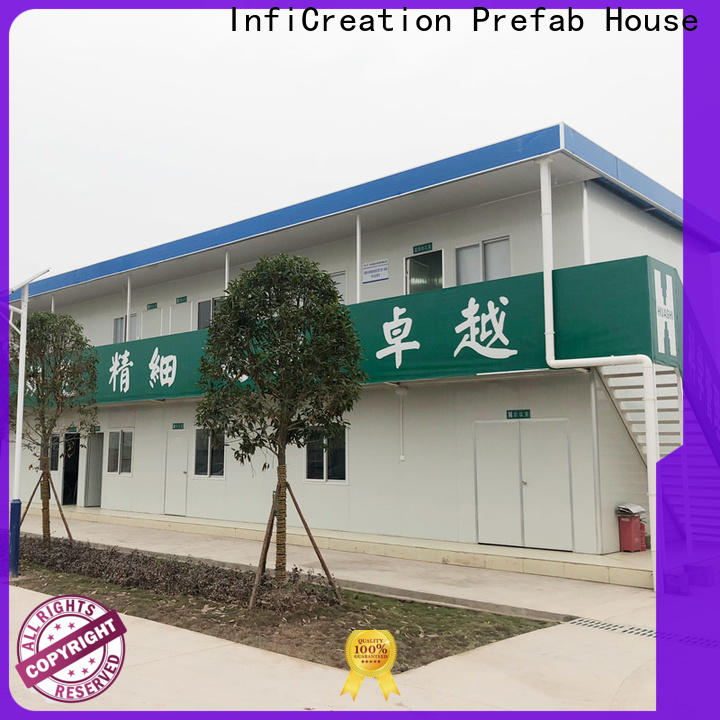 InfiCreation pre built container homes customized for toilet