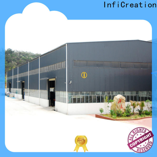 InfiCreation pre built warehouse factory price for cargo