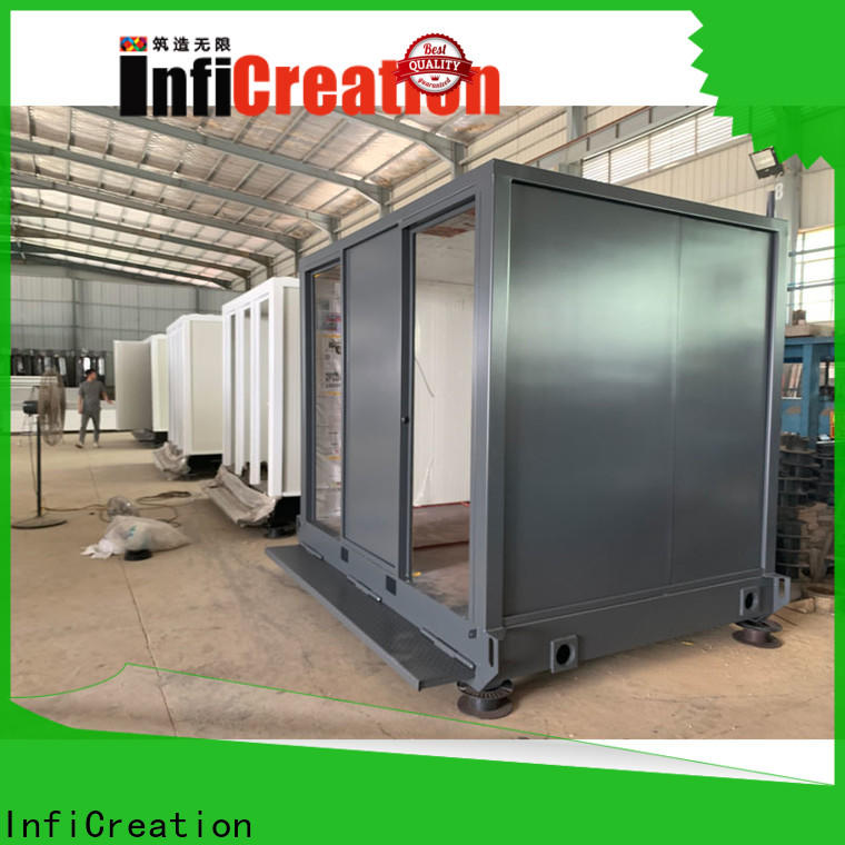 tiny prefabricated container homes manufacturer for toilet