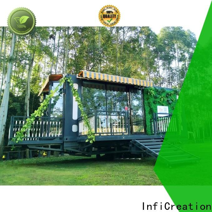 recyclable freight container homes factory for booth