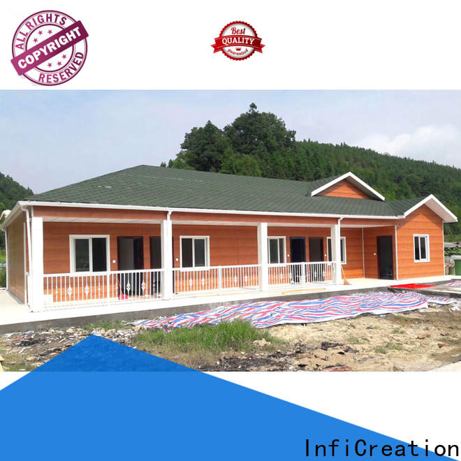InfiCreation custom pre manufactured homes supply for carport