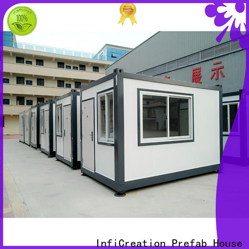 InfiCreation steel freight container homes manufacturer for toilet