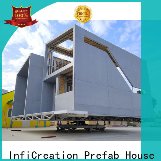 InfiCreation prefab cottage homes factory price for resorts