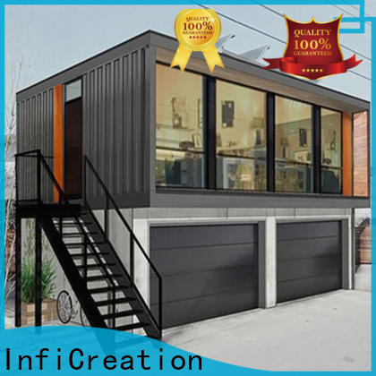 InfiCreation custom container homes manufacturer for carport